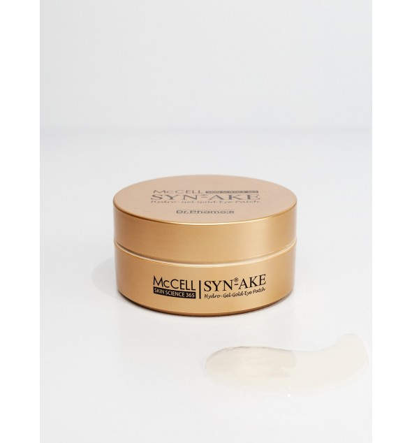 McCELL SKIN SCIENCE 365 SYN-AKE Hydrogel Gold Eye Patch