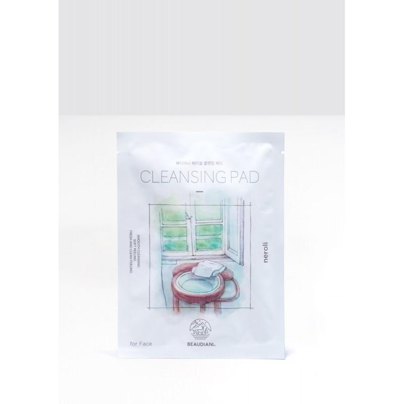 Facial cleansing pad
