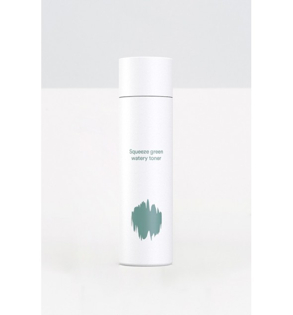 E NATURE SQUEEZE GREEN WATERY TONER - E-NATURE