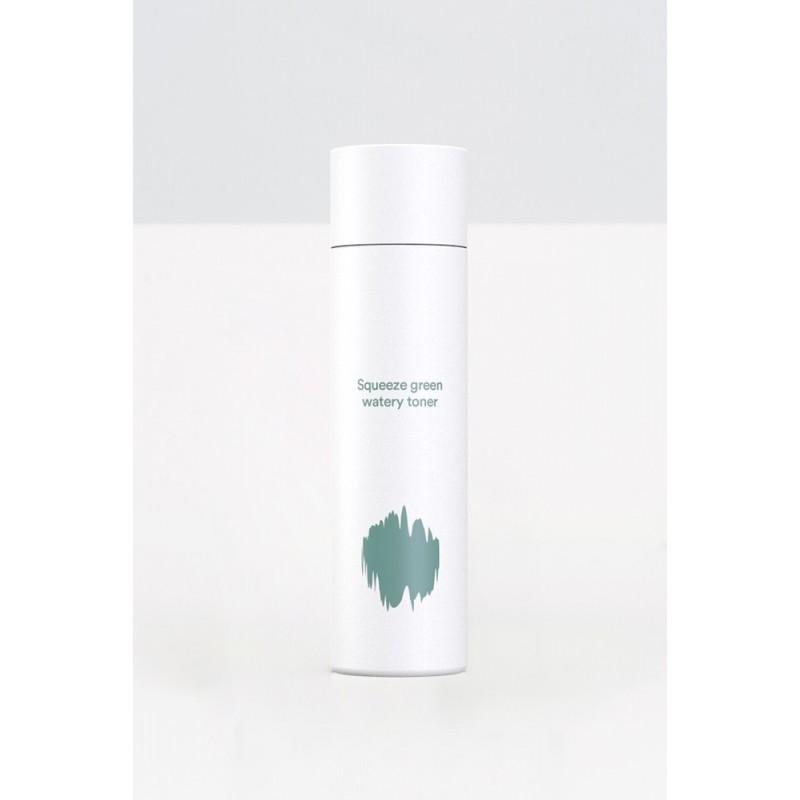 E NATURE SQUEEZE GREEN WATERY TONER - E-NATURE
