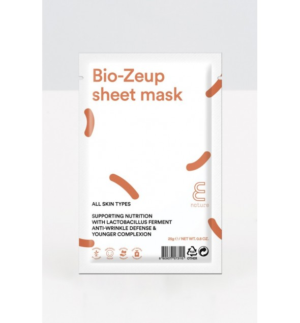 E NATURE BIO-ZEUP SHEET MASK - E-NATURE