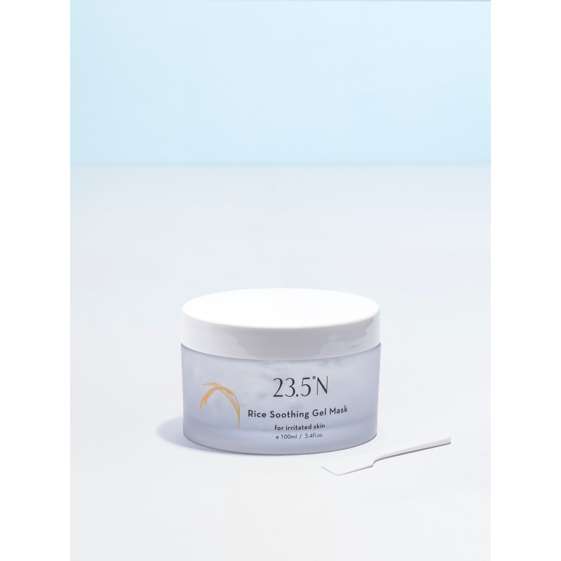 RICE SOOTHING GEL MASK - 23.5ºN