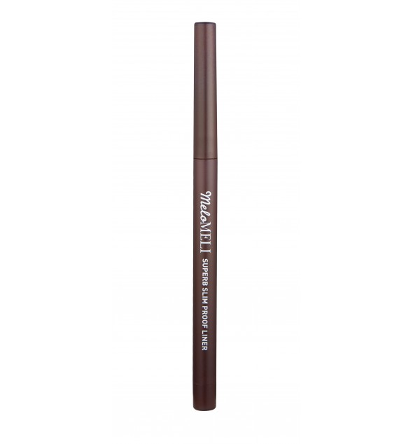 SUPERB SLIM PROOF EYE LINER 02 KILL BROWN - MELOMELI