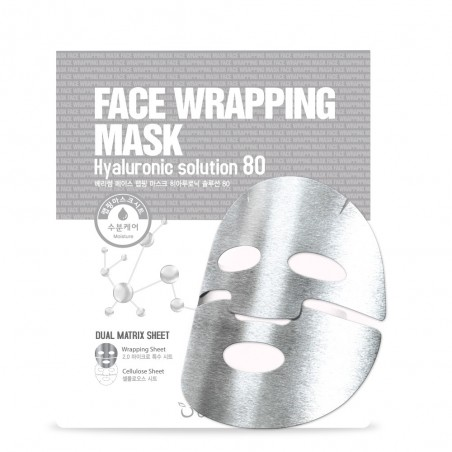 FACE WRAPPING MASK HYARURONIC SOLUTION 80 - BERRISOM