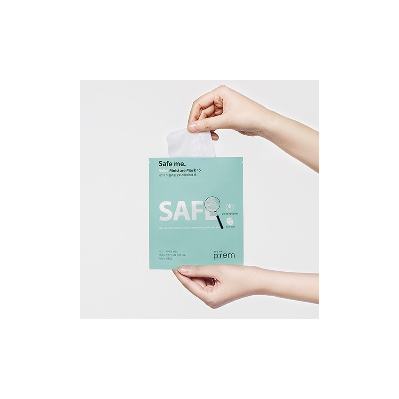 SAFE ME. RELIEF MOISTURE MASK 15 - MAKEP:REM