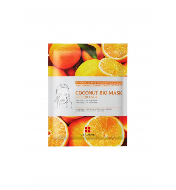 COCONUT BIO MASK WITH ORANGE - LEADERS