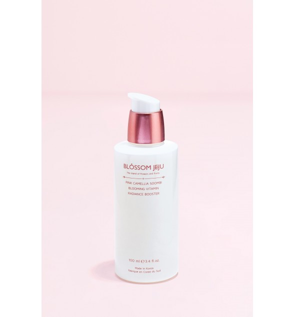 PINK CAMELLIA SOOMBI BLOOMING VITAMIN RADIANCE BOOSTER - BLOSSOM JEJU