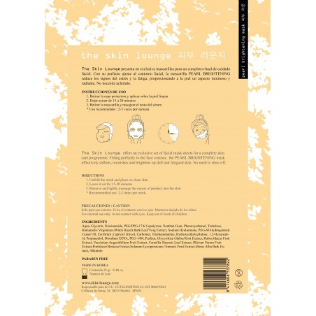 PEARL BRIGHTENING - THE SKIN LOUNGE