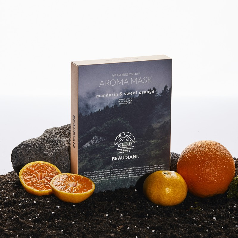 AROMA MASK MANDARIN & SWEET ORANGE - BEAUDIANI