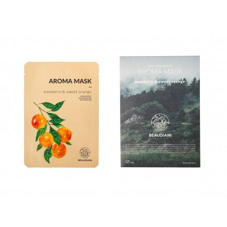 AROMA MASK MANDARIN & SWEET ORANGE - BEAUDIANI