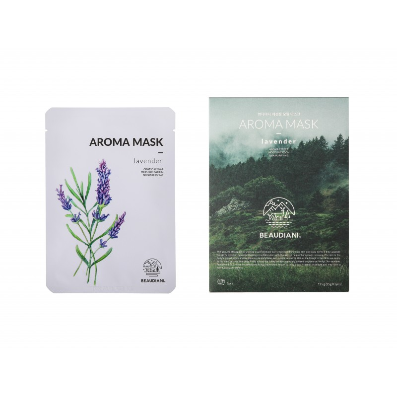 AROMA MASK LAVENDER - BEAUDIANI