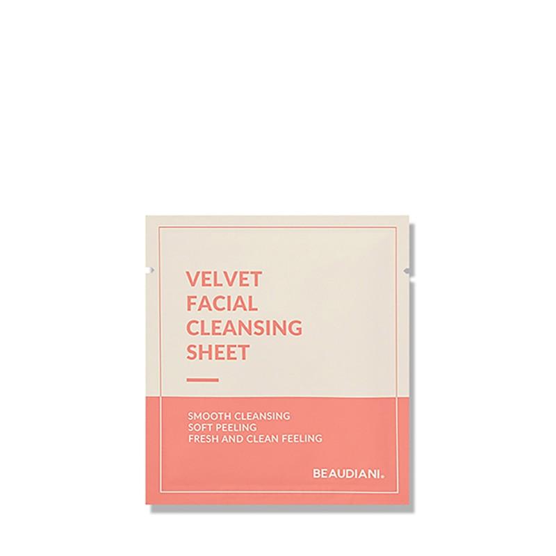 VELVET FACIAL CLEANSING SHEET - BEAUDIANI