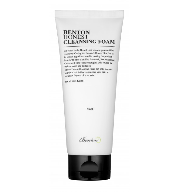 BENTON HONEST CLEANSING FOAM - BENTON