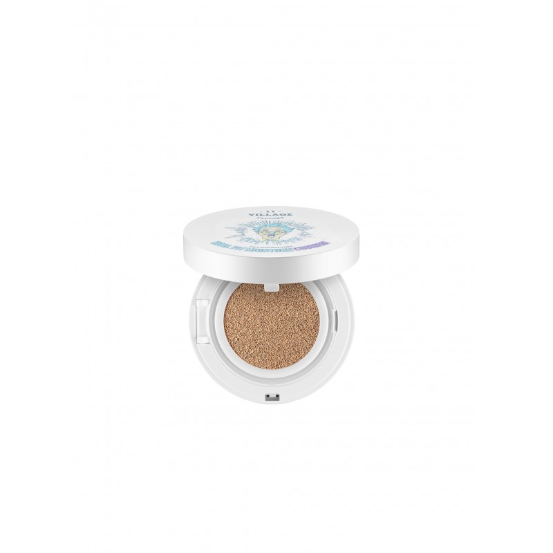 REAL FIT MOISTURE CUSHION / 23. DEEP BEIGE - 11 VILLAGE FACTORY
