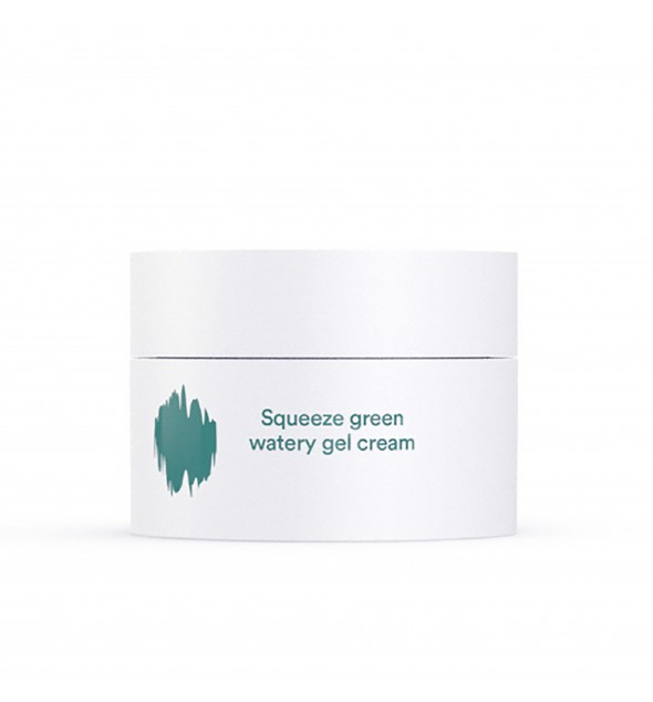 E NATURE SQUEEZE GREEN WATERY GEL CREAM - E-NATURE