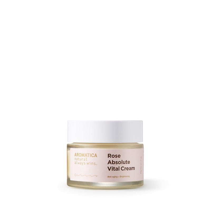 ROSE ABSOLUTE VITAL CREAM - AROMATICA
