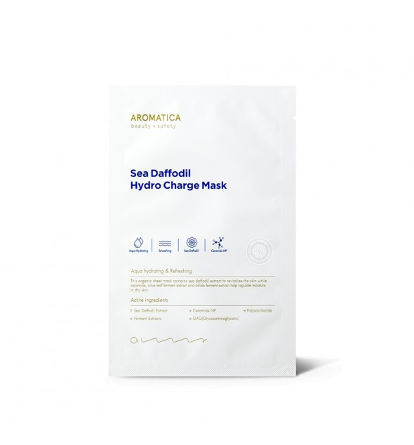 SEA DAFFODIL HYDRO CHARGE MASK(SHEET) - AROMATICA