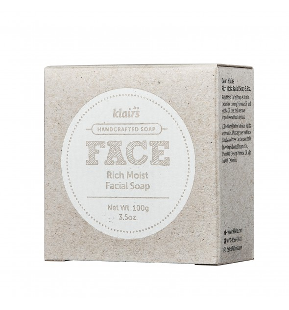 RICH MOIST FACIAL SOAP - KLAIRS