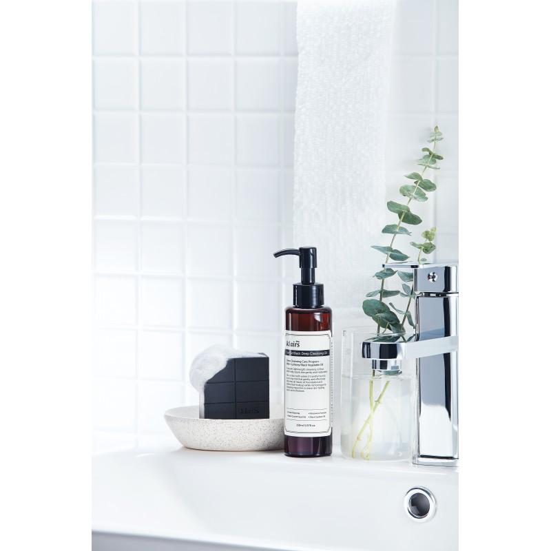 GENTLE BLACK CHARCOAL SOAP - KLAIRS