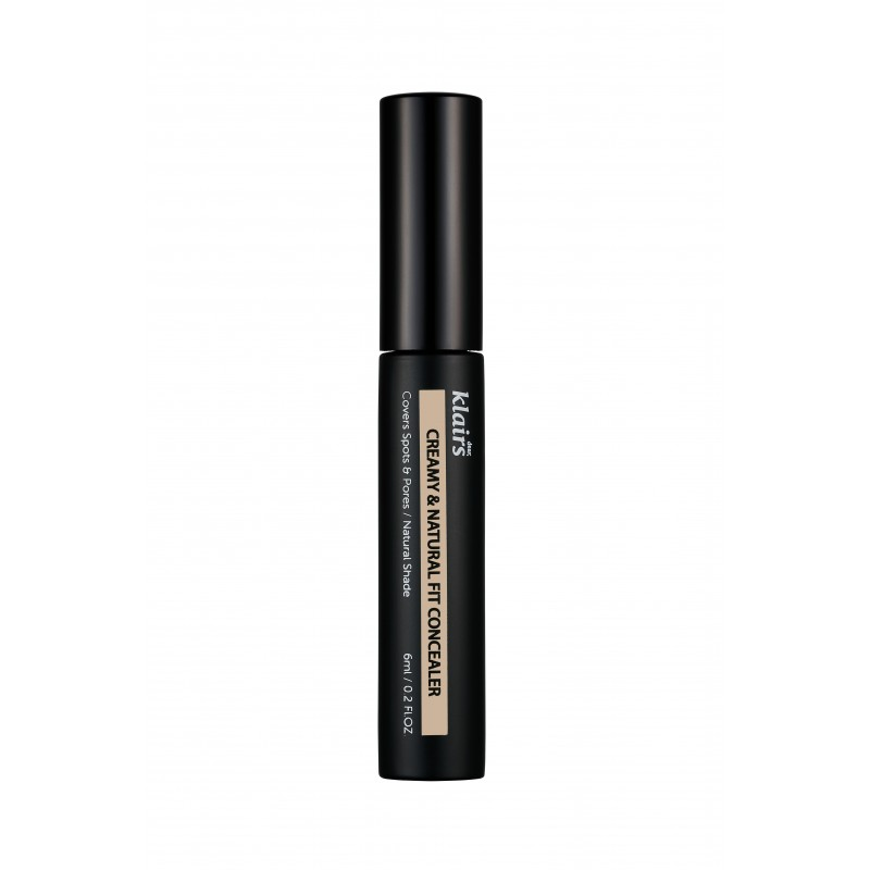 CREAMY & NATURAL FIT CONCEALER - KLAIRS