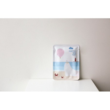 MONTHLY NEW FEET FOOT MASK - PACKAGE