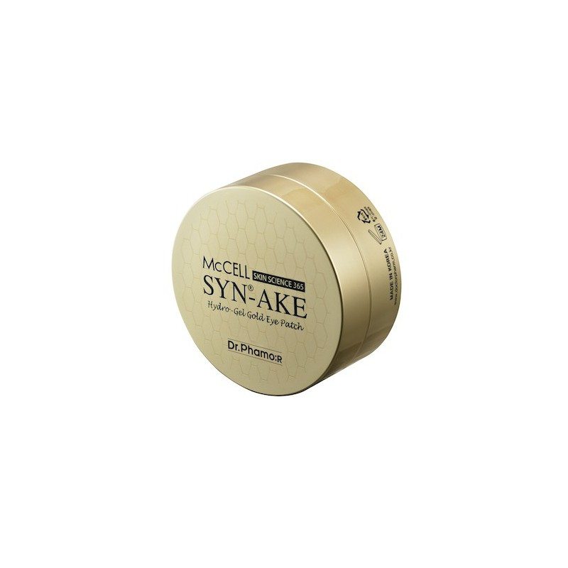 MCCELL SKIN SCIENCE 365 SYN-AKE HYDROGEL GOLD EYE PATCH - DR.PHAMOR