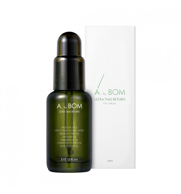 ULTRA TIME RETURN EYE SERUM - ABY BOM
