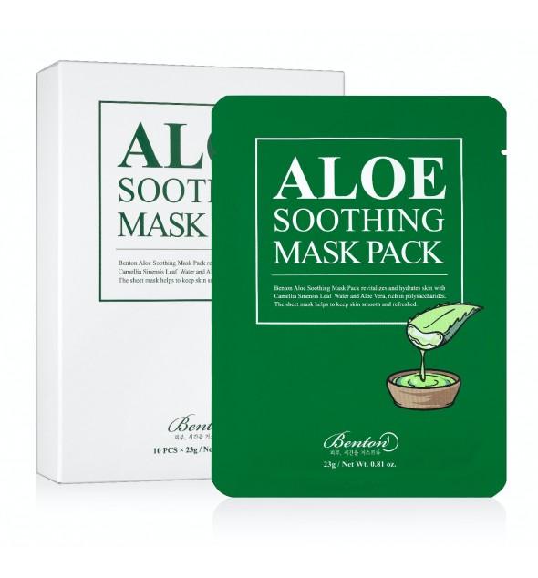 ALOE SOOTHING MASK PACK - BENTON