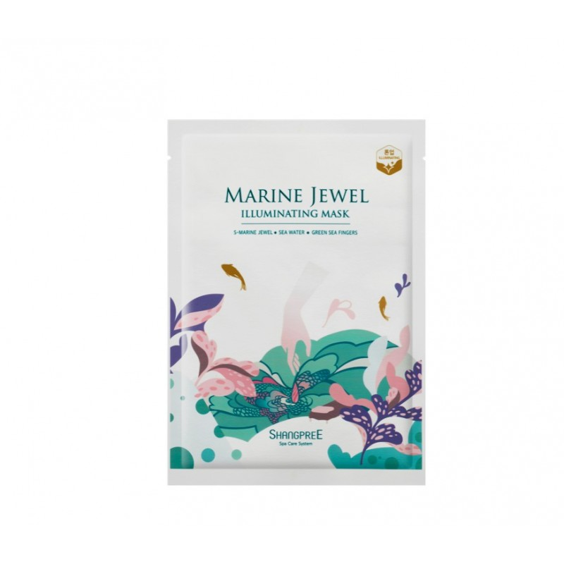 MARINE JEWEL ILLUMINATING MASK - SHANGPREE