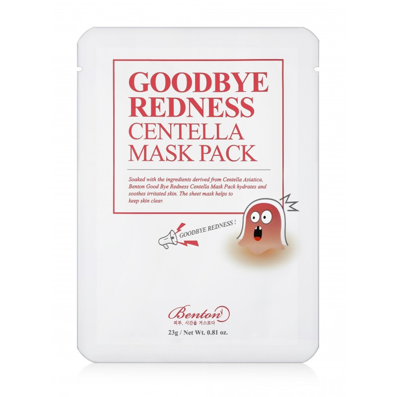 GOODBYE REDNESS CENTELLA MASK