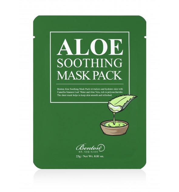 ALOE SOOTHING MASK PACK - BENTON