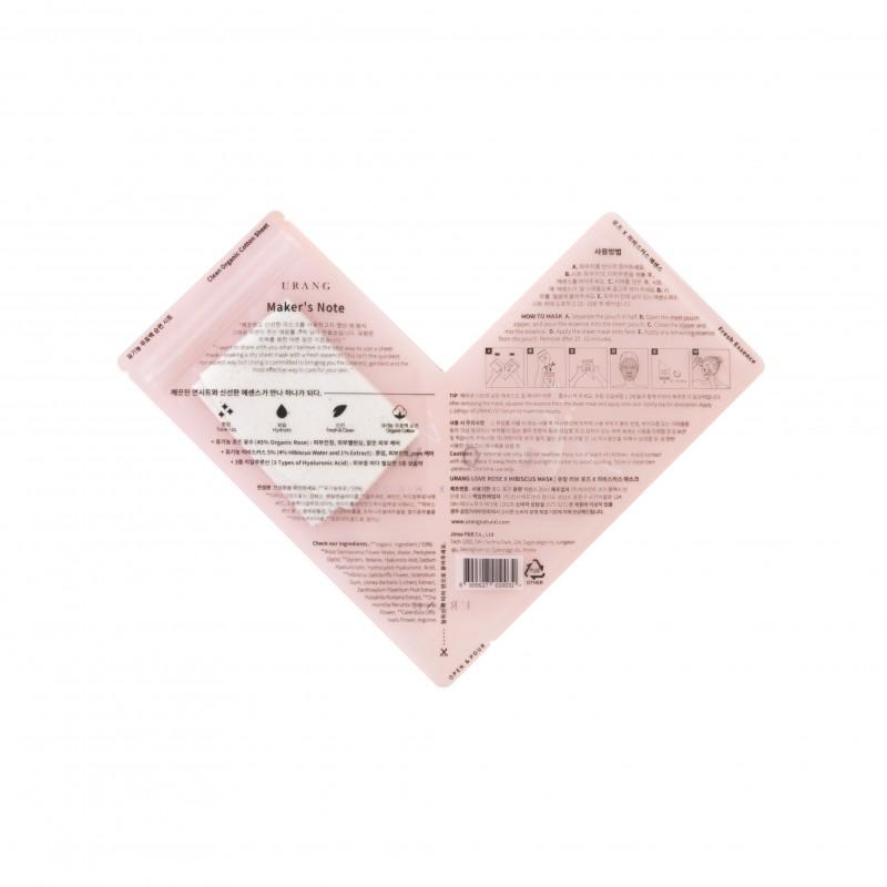 ROSE X HIBISCUS MASK - URANG
