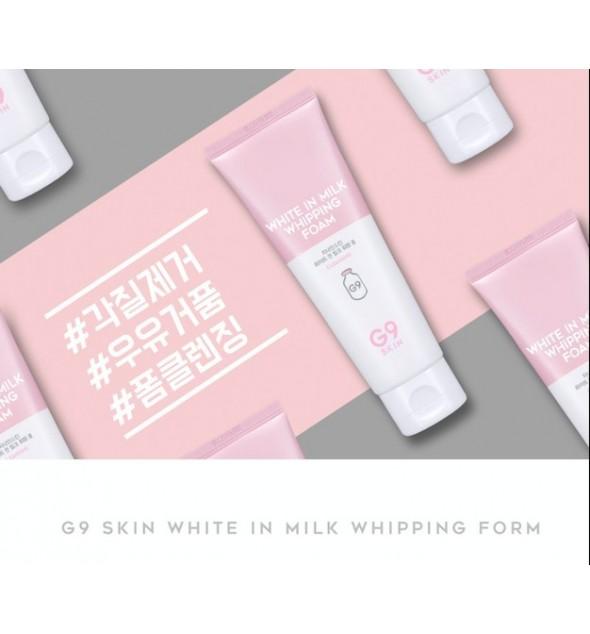 WHITE IN MILK WHIPPING FOAM - G9 SKIN