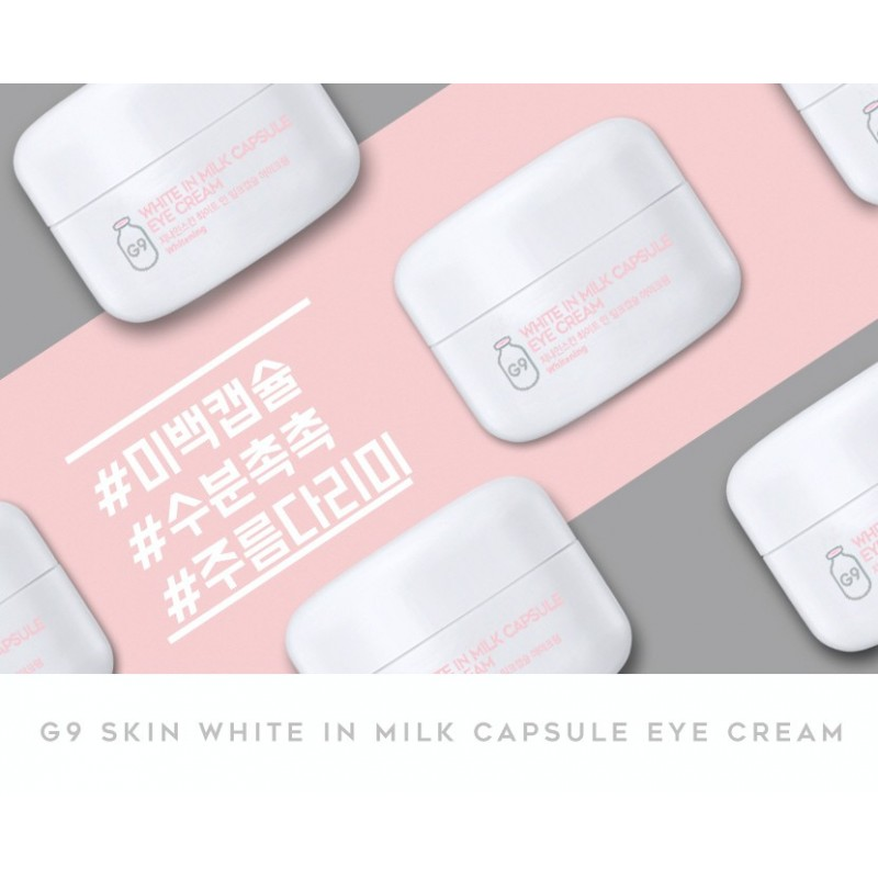 WHITE IN MILK CAPSULE EYE CREAM - G9 SKIN