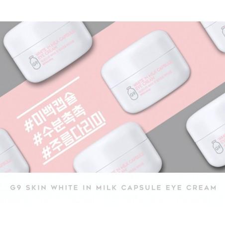 WHITE IN MILK CAPSULE EYE CREAM - G9 SKIN