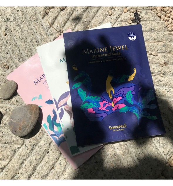 MARINE JEWEL HYDRATING MASK - SHANGPREE