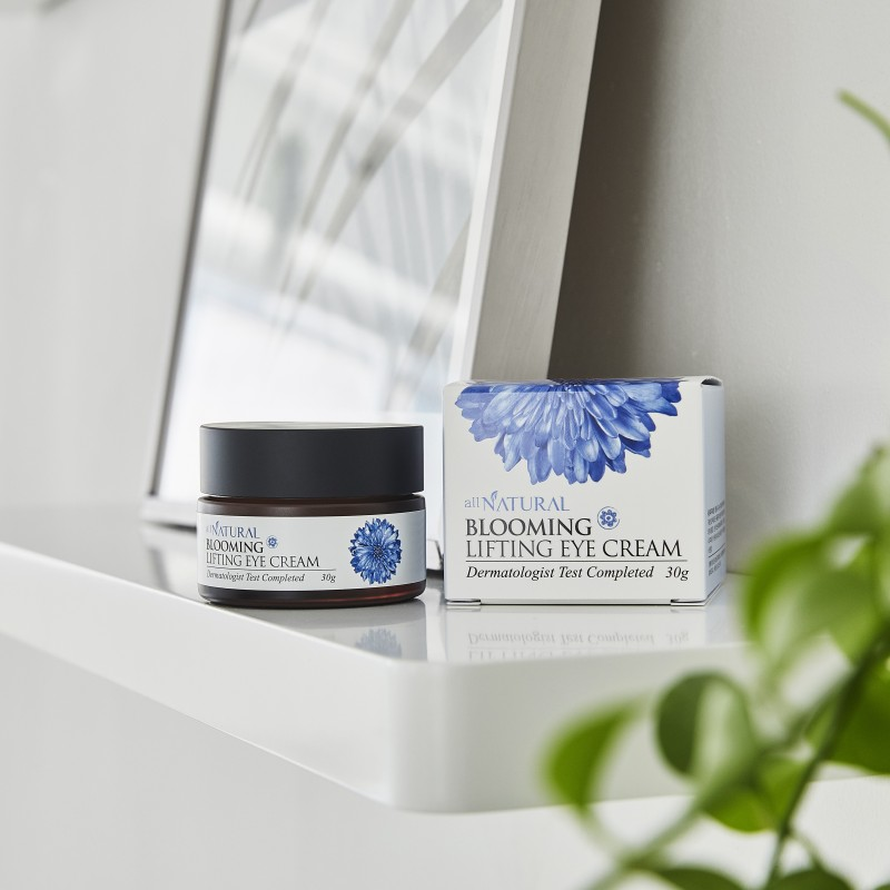 BLOOMING LIFTING EYE CREAM - ALL NATURAL