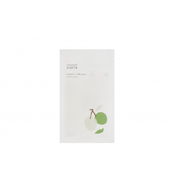 MAKE IT BRIGHT SHEET MASK - SIORIS