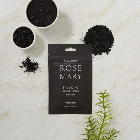 COLD BREW ROSEMARY BALANCING SCALP PACK W/ CHARCOAL