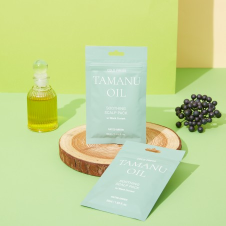COLD PRESS TAMARU OIL SOOTHING SCALP PACK W/ BLACKCURRANT