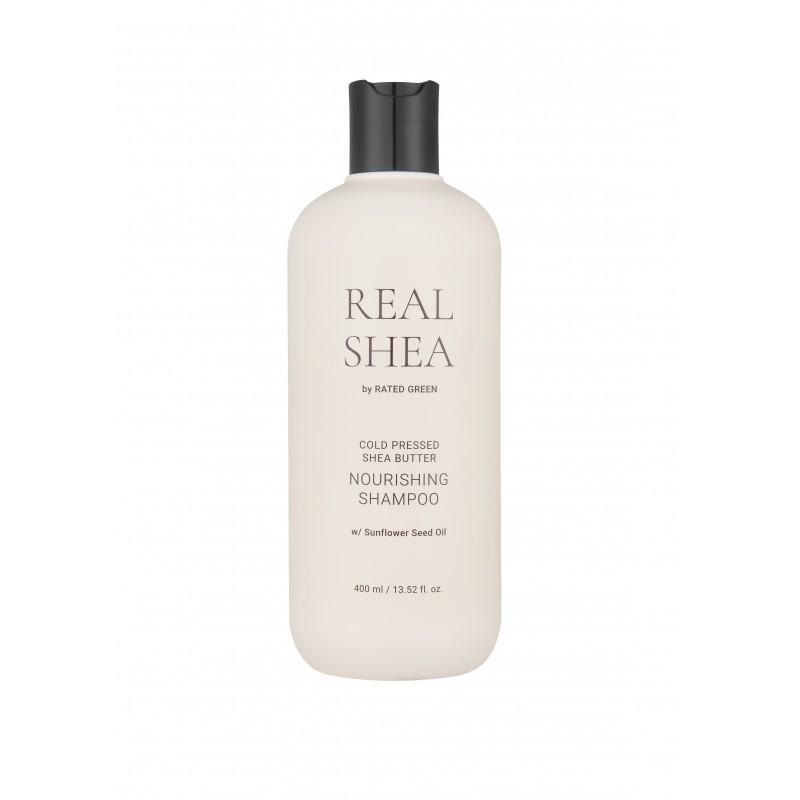 REAL SHEA BUTTER NOURISHING SHAMPOO