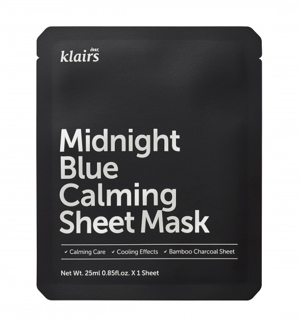 MIDNIGHT BLUE CALMING SHEET MASK - KLAIRS