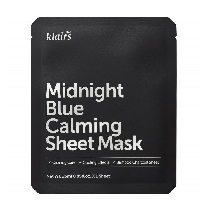 MIDNIGHT BLUE CALMING SHEET MASK - KLAIRS
