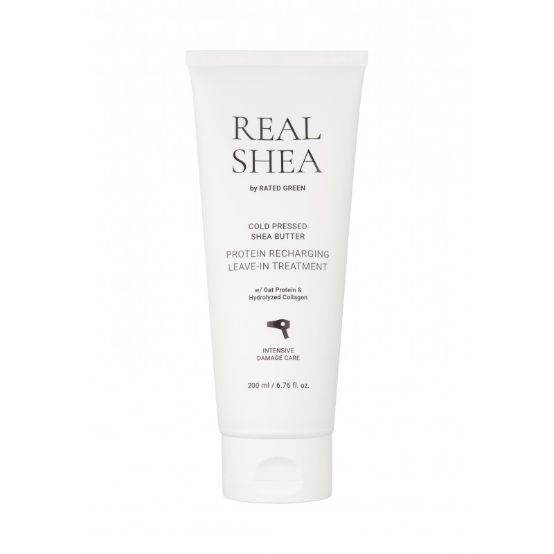 REAL SHEA PROTEIN RECHARGING LEAVE IN TREATMENT