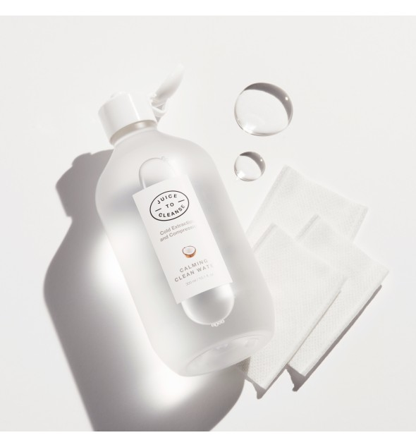 JUICE TO CLEANSE CALMING CLEAN WATER