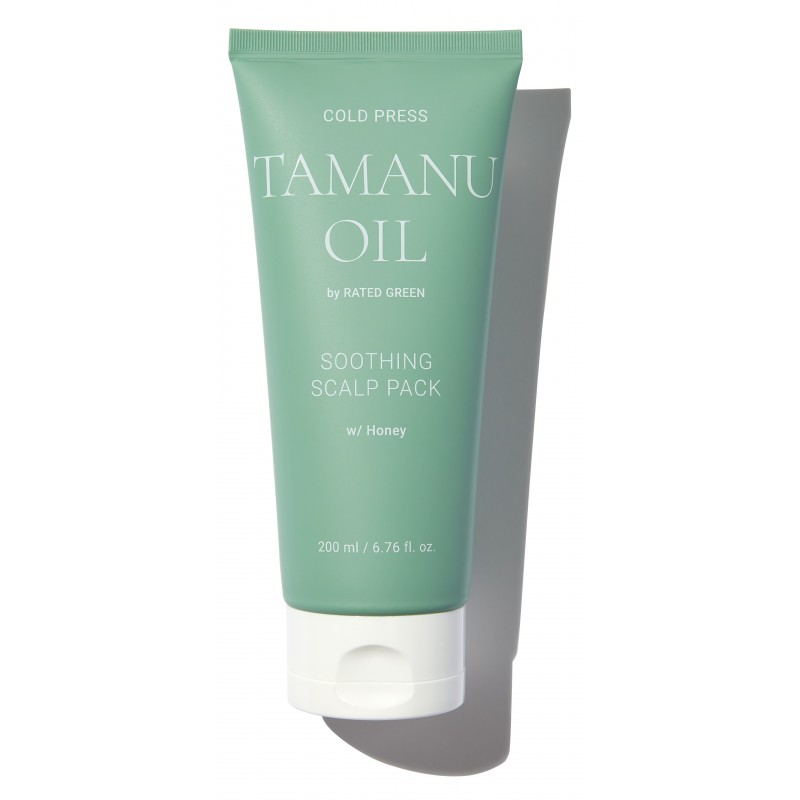 COLD PRESS TAMARU OIL SOOTHING SCALP PACK 200ML