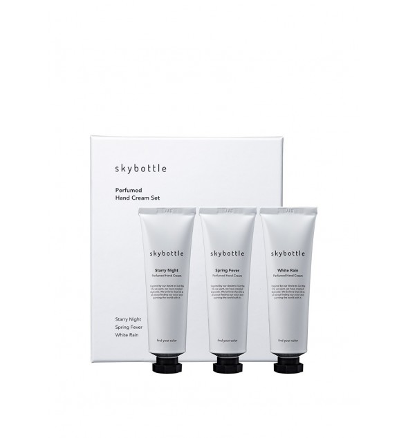 PERFUMED HAND CREAM SET - SKYBOTTLE