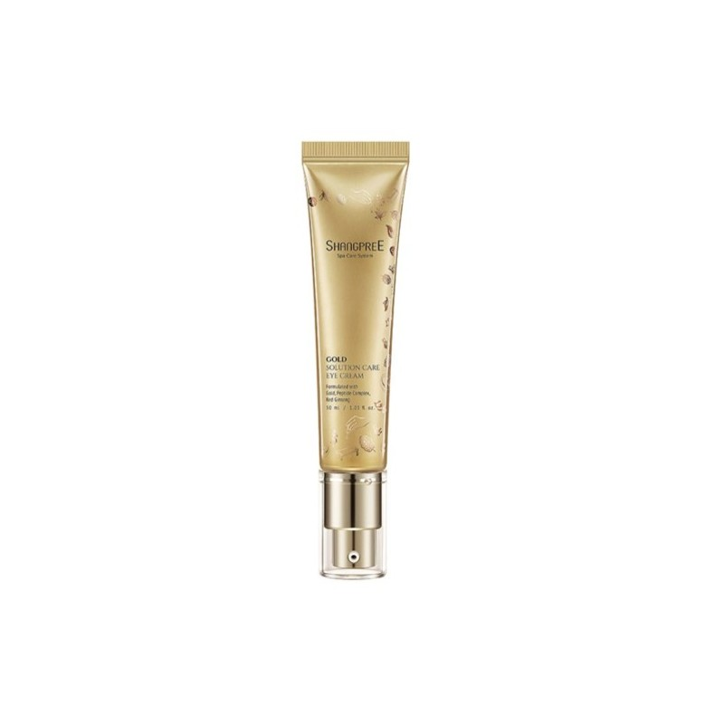 GOLD SOLUTION CARE EYE CREAM - SHANGPREE