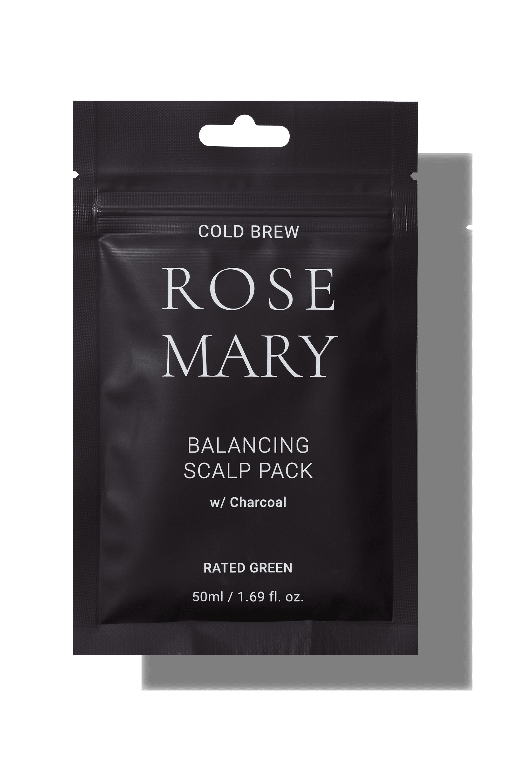 Cold Brew Rosemary Balancing Scalp Pack With Charcoal_Rated Green