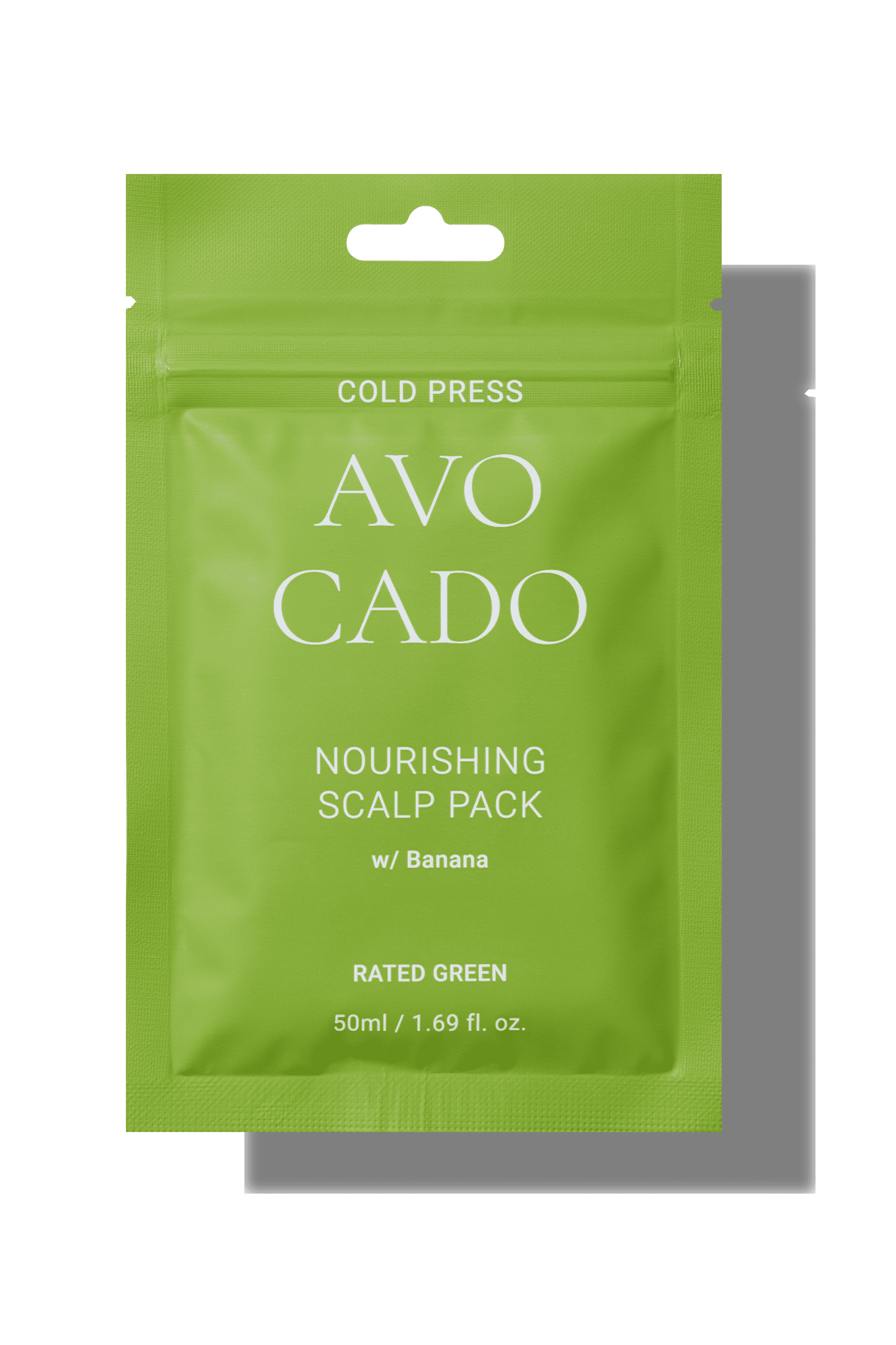 Cold Press Avocado Nourishing Scalp Pack With Banana_Rated Green